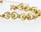 18K Gold Victorian Bracelet