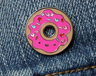 NEW! Donut Enamel Pin from Doodlebug Design - Limited Edition