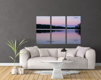 Nature Photography Pink Wall Living Room MN Home Decor Art Multi Panel