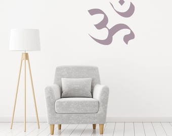 Wall Decal Lotus Yoga Zen Meditation Bedroom Wall Decal - Yoga studio wall decals