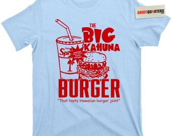 the Big Kahuna Burger Pulp Fiction Samuel L Jackson Jules Winnfield 2 sequel Quentin Tarantino John Travolta Vincent Vega movie Tee T Shirt