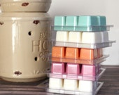 6 Pack Scented Soy Wax Melts - Choose Your Scent - Wax Cubes - Clamshell Candle Cubes