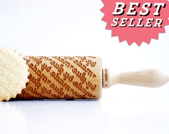 PERSONALIZED wedding gift , personalize gift, CUSTOM rolling pin, laser engraved rolling pin with name