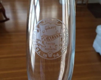 100 Year Anniversary Gibson Guitar Commemorative Presentation Glass