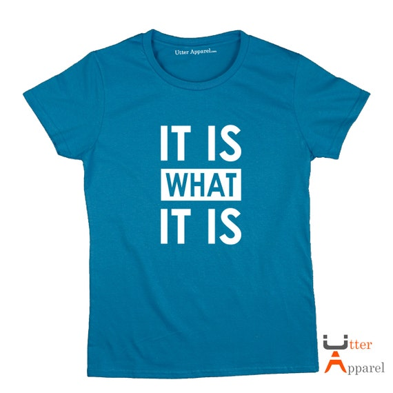 It is What It Is Tshirt  (Ladies or Unisex Tee), Sherlock Holmes tee - sizes S-2XL, other colours available