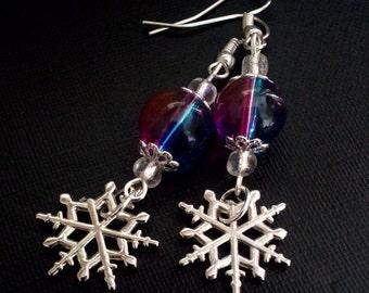 Snowflake frozen Earrings