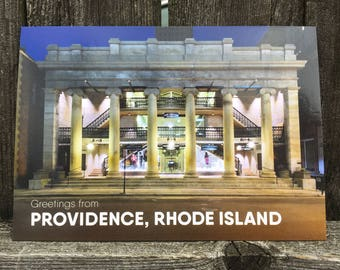 The Arcade Providence Postcard