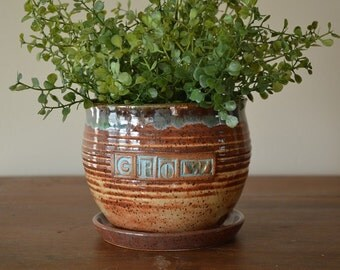 Indoor Herb Planter Delectable Herb Planter  Etsy Design Ideas