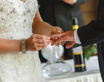 Bridal bracelet, rhinestone wedding bracelet, crystal bracelet, bridal jewelry, wedding accessories, bridesmaid bracelet, bracelet 208850288
