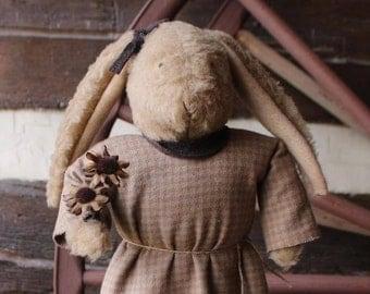 Daisy- Primitive Handmade Bunny Rabbit