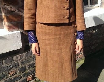 1960s Irish Wool Tweed 3 piece suit SALE!