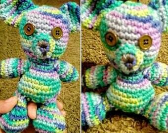 Spring Berries Handmade Crochet Bear
