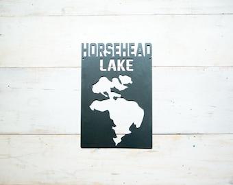 Horsehead Lake Michigan Steel Art
