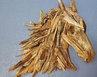 Original Driftwood Creation - Horse