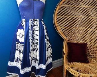 Vintage Full Skirt | Hawaii | Summer Pin Up Girl