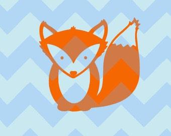 Cute Fox Decal