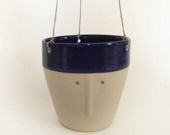 Pot to suspend 'Friend' - Cup / pot plants - sandstone - big