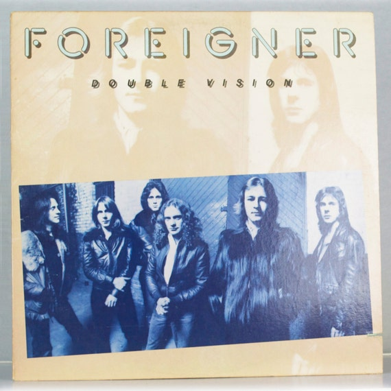 Foreigner - Double Vision Album Atlantic Records 1978 Original Vintage Vinyl Record