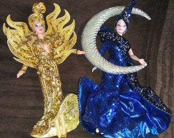 VINTAGE Bob Mackie Barbie Dolls- Circa 1995