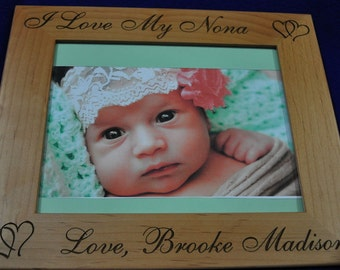 Gift For Mom ~ Birthday Gift For Mom ~ Mother's Day Gifts ~ Baby Frame ~ Custom Frames ~ New Baby Gift ~ Picture Frames ~ Frames For Baby ~