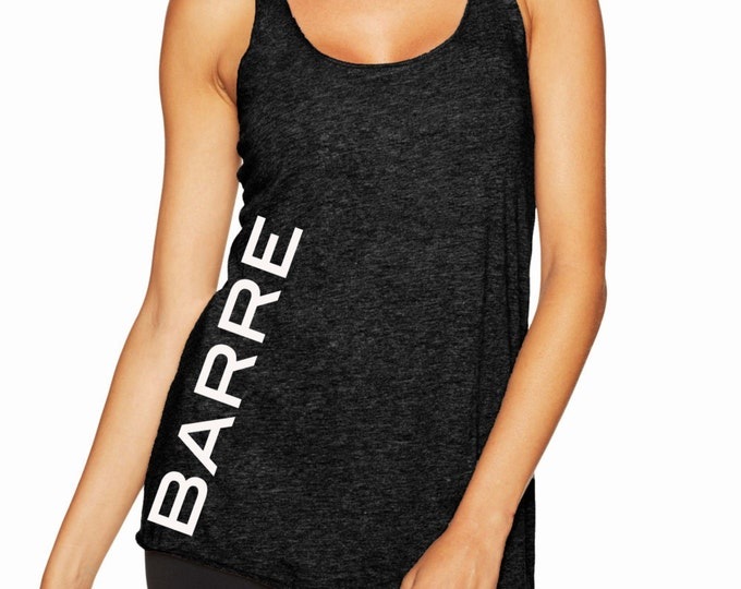 Barre Side Racerback Tank Top