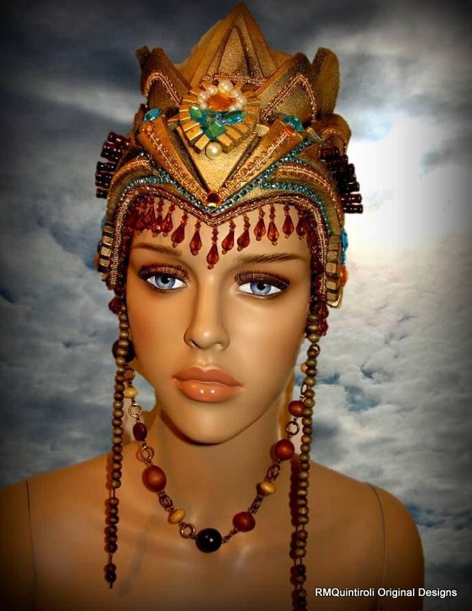 Cleopatra Style Strong Foam Headdress Halloween Headdress