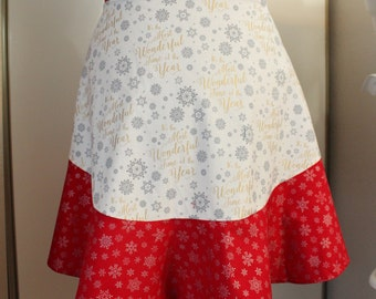 Christmas Half Apron - Adult