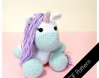 Amigurumi Unicorn - PDF Written Pattern (digital item)