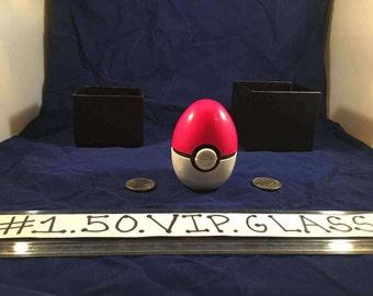 Free Gift & Shipping PokeEgg Pink Original Pokemon Style egg 3pc Herb Grinder Pokeball + Free Gift Box