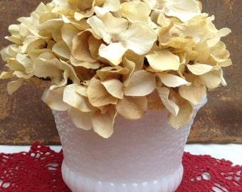 Inarco Milkglass Planter Milk Glass Vase White Milkglass Vase Midcentury Planter Mid Century Vase