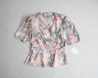 silk floral blazer | silk jacket | peplum jacket