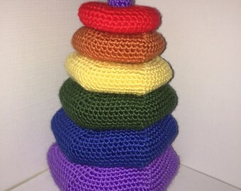 Crochet Pattern - Ring Tower