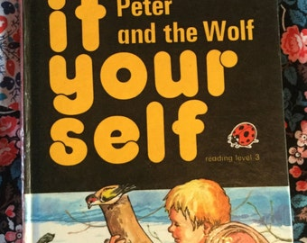 Vintage Ladybird Classic Book - Peter and the Wolf
