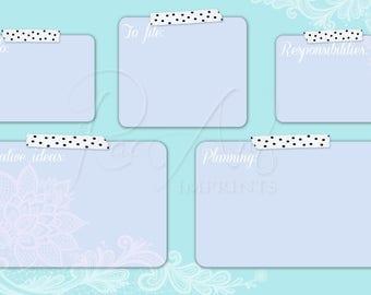 Lotus Lace Productivity Desktop Background