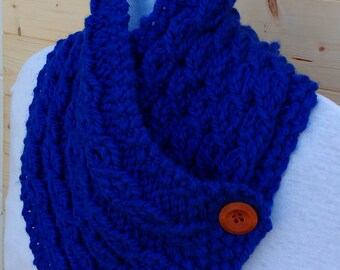 Cowl, Scarf, Buttoned cowl