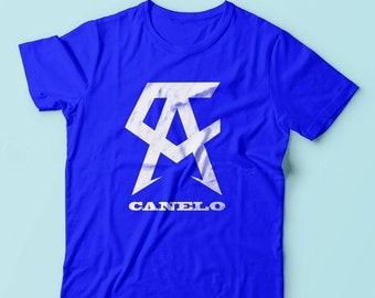 Saul Canelo Alvarez Boxing Youth Shirts XS-XL Available Order By September 10th for Guaranteed Delivery By Fight Night