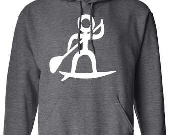 Mens SUP iSUP Paddle Board Hoodie S M  L XL XXL