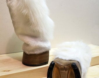 Natural Pony Hoof Mitts