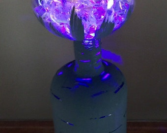 Wine Bottle with Color Changing Lights