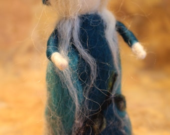 waldorf inspired needle felt doll -Willow