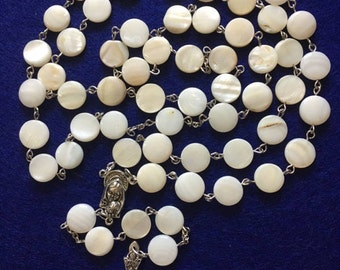 Natural Shell Rosary
