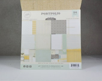 Pink Paislee Scrapbook Paper Pad 6x6