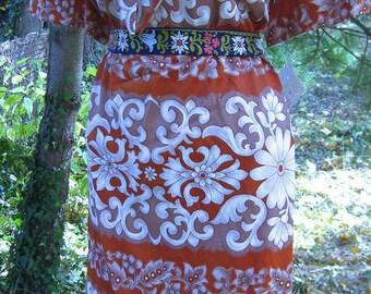 Plus Size dress 1960s LANE Bryant never worn Store Tagged Dress Like New with tag LNWT dress, 60s, appx size 3x, size XXXL or size 24 to 26