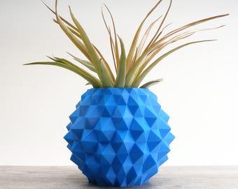 Tropical Hexagon Studded Desk Planter Geometric Pots for Plants