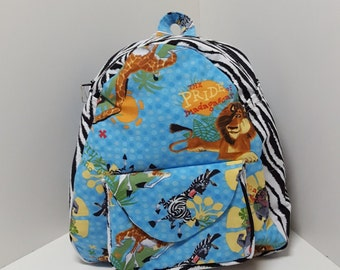 NEW JR Toddler Backpack - Madagascar