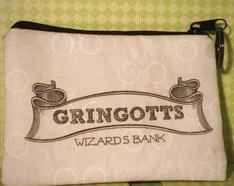 Gringotts Wizard Bank Coin Purse