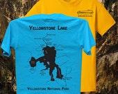 RIVER MAP T Shirts - Men&...
