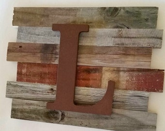 Baby Boy Nursery Decor Large Wall Letters Woodland Nursery Art Wooden Letters