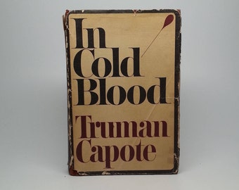 First Edition 1st Printing In Cold Blood by Truman Capote - Random House, 1965 Hardcover Book with Original Dust Jacket