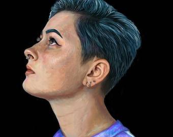 Custom Personalized Digital Portrait